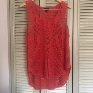 Coral Mossimo tank top